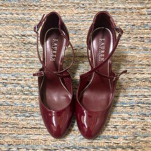 Ralph Lauren heel shoes